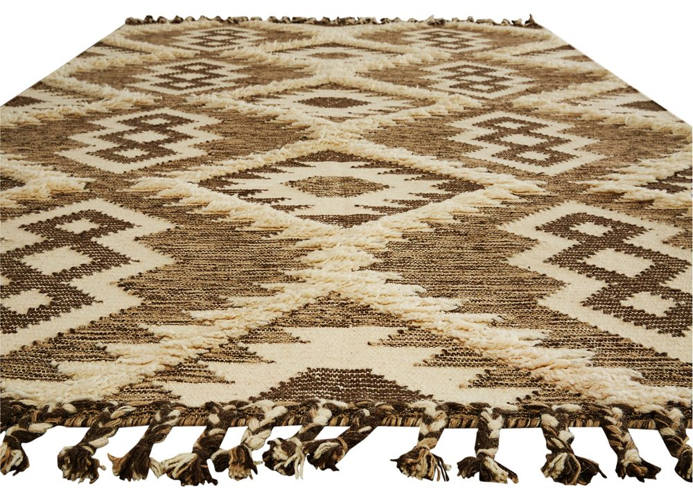 Jaipur Living Branded 1 6x1 6 Size Rug Swatch In Brown