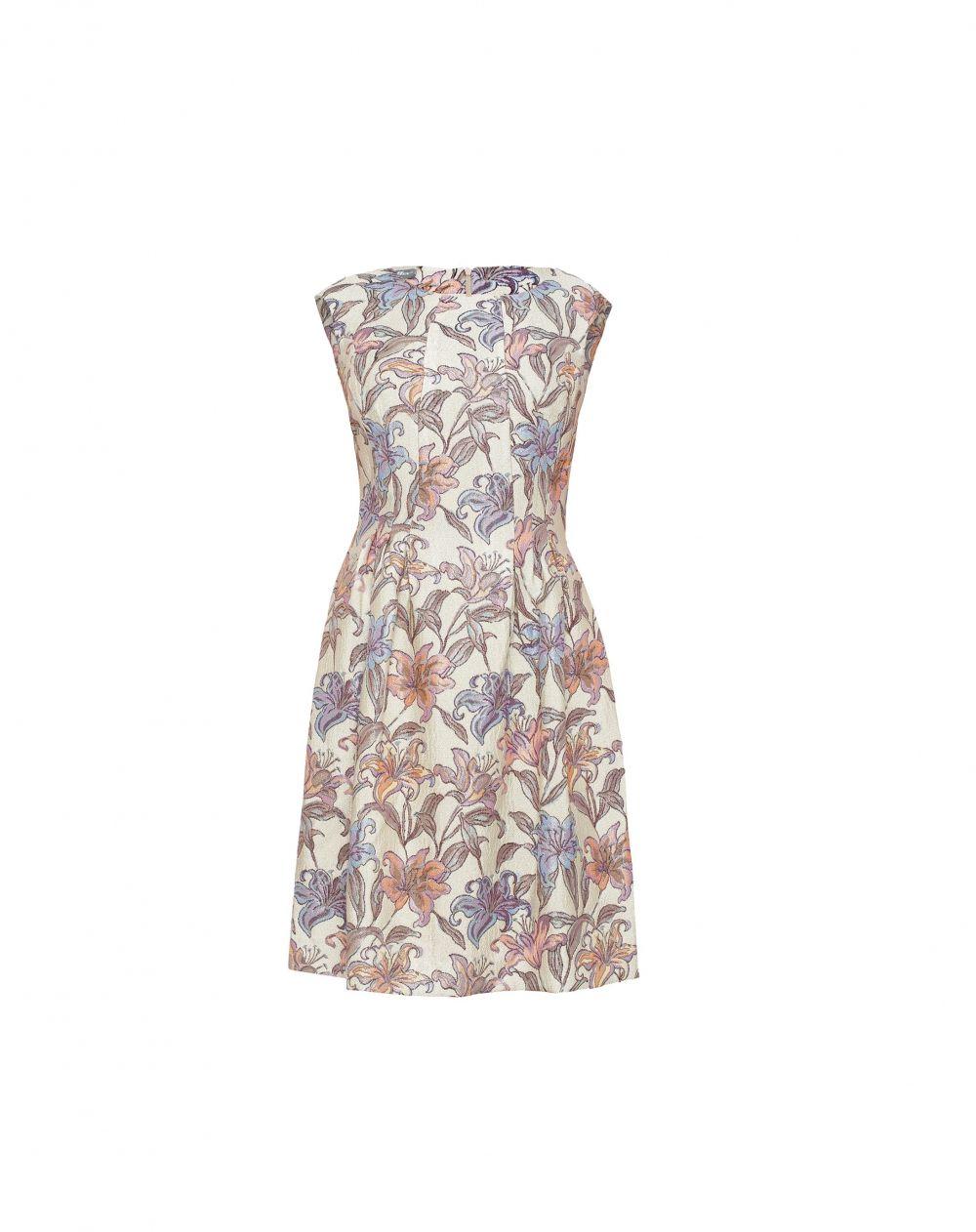 Danhen Sukienka Zakardowa W Kwiaty Summer Dresses Fashion Dresses