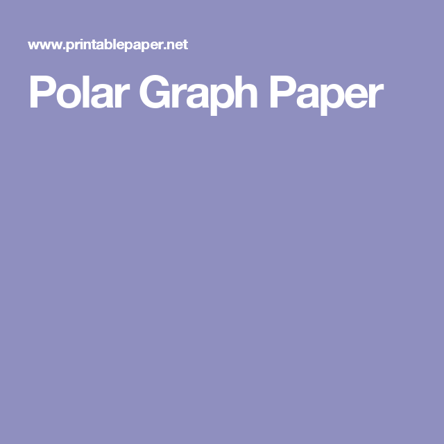 Polar Graph Paper  Drawing  Art    Graph Paper