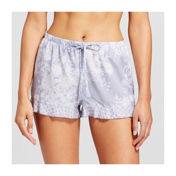 e5307ce4e9eb8 Women s Pajama Shorts ( 13) ❤ liked on Polyvore featuring intimates ...