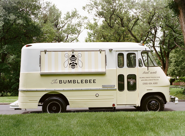 The Bumblebee Dessert Food Truck Design Brand Identity