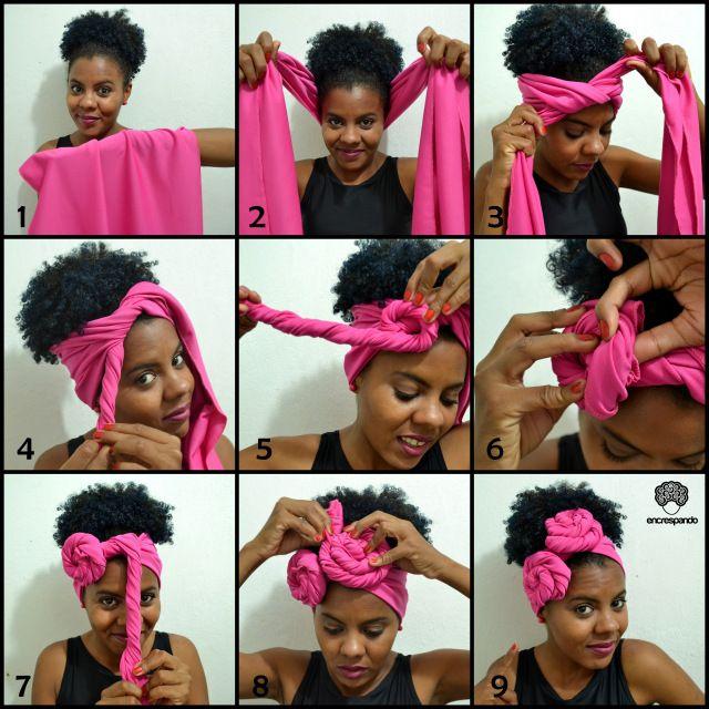 Turban Bandana Turbante Head Scarf Hair Wraps Hair Wrap Scarf Natural Hair Styles