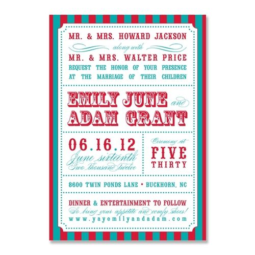17 Best images about Invitation Trends - Carnival on Pinterest ...