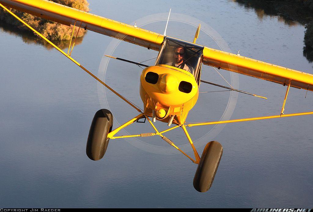 Piper/Smith PA-18 Super Cub aircraft picture …   Airplanes   Bush
