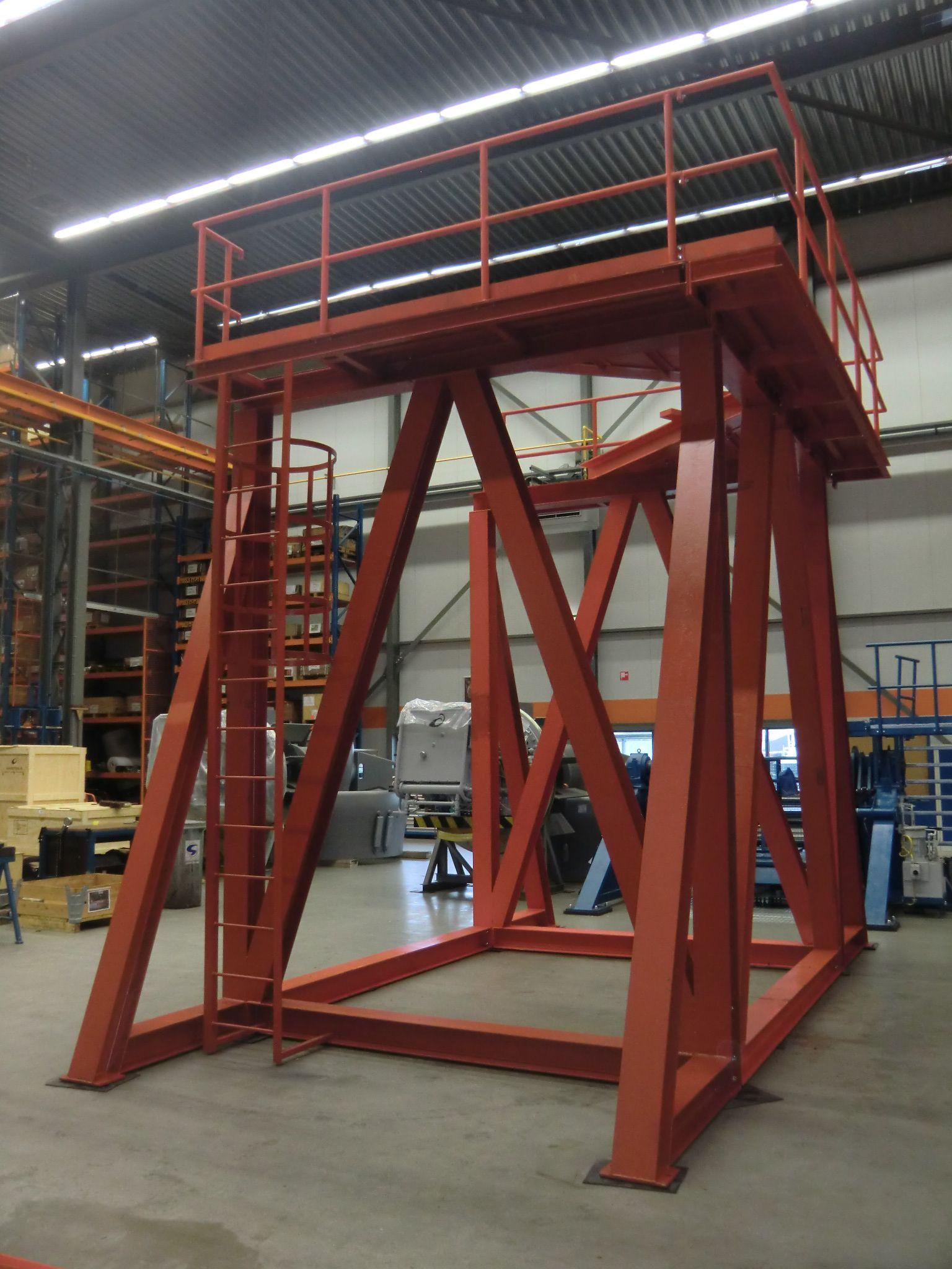 Industrial project VWS Rijen BV The Netherlands