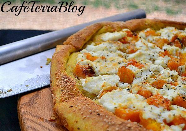 Butternut Squash Pizza Dough