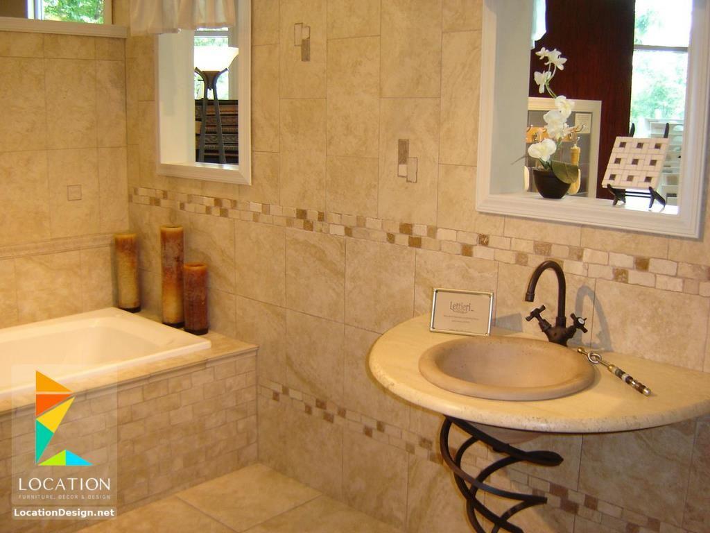 ديكورات حمامات صغيرة المساحة 50 تصميم حمامات مودرن بأفكار رائعة جدا Bathroom Remodel Tile Small Bathroom Tiles Bathrooms Remodel