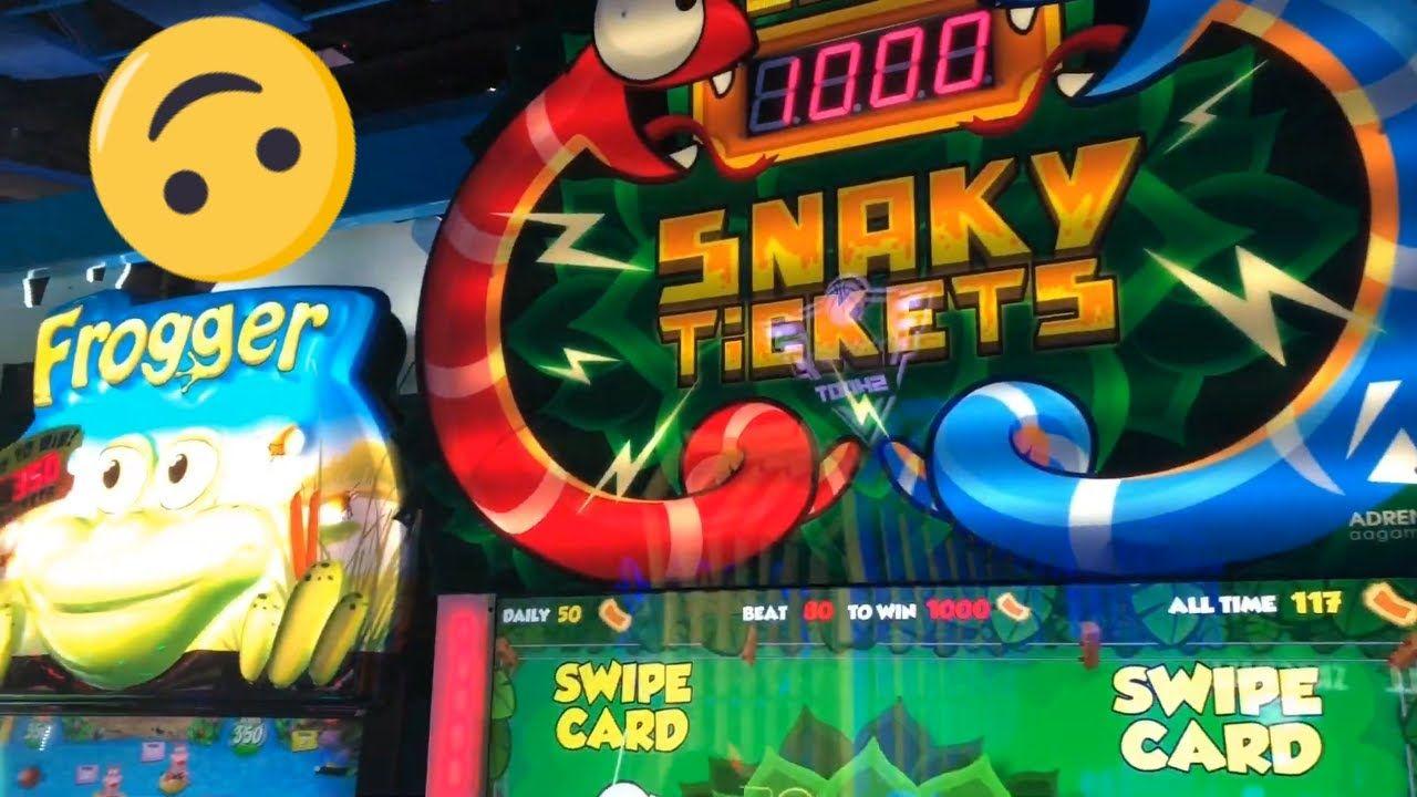 Snaky Tickets Arcade Ticket Redemption Game Jackpot