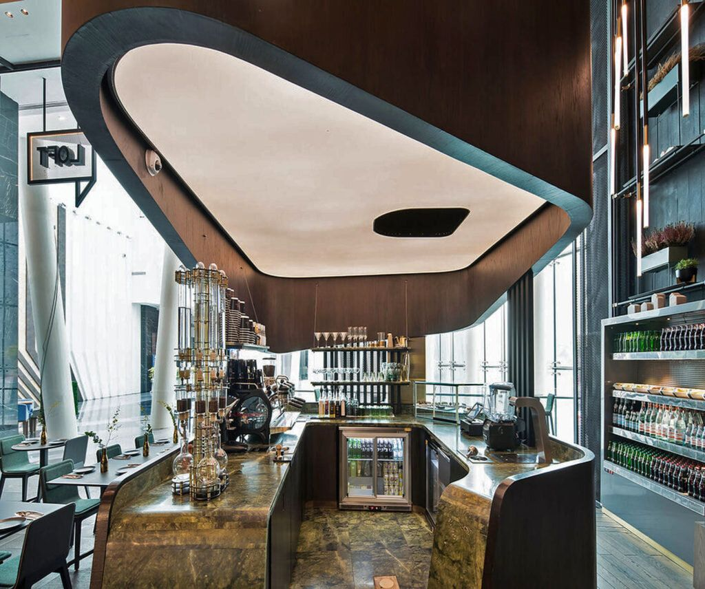 Restaurant Designs The Loft Restaurant Kuwait Love That Design In 2021 Restaurant Design The Loft Restaurant Restaurant