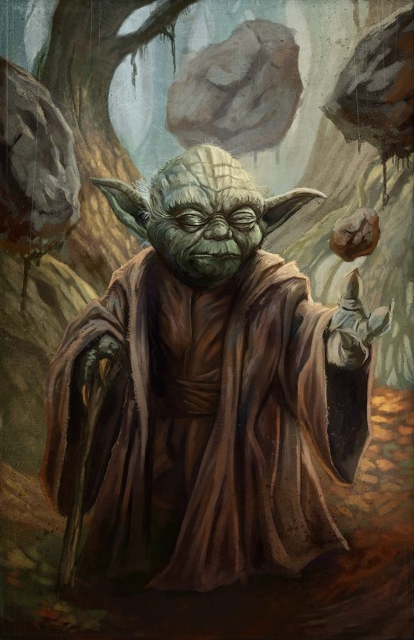 This is pretty awesome Master Yoda Created by Blake Henriksen DeviantART || CGhub || Blog