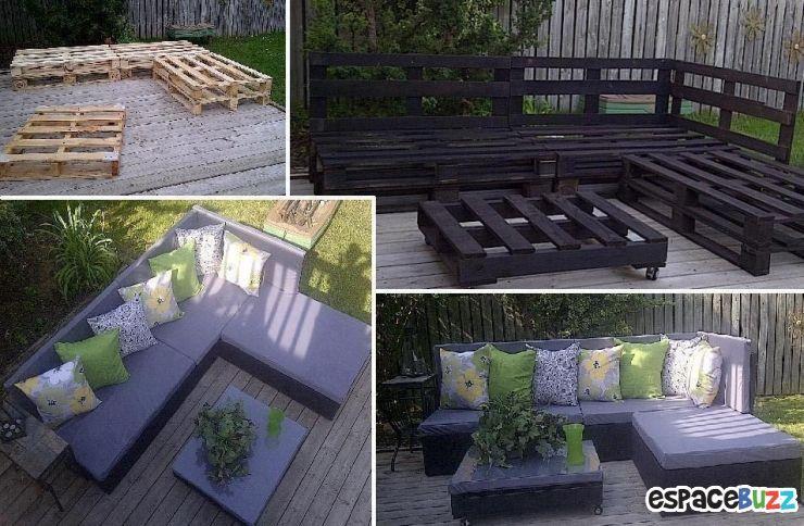 Créez votre jardin de palettes - Tutoriel | Bricolage ...