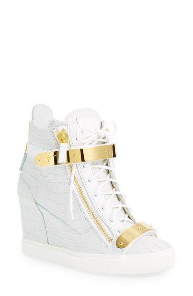 Giuseppe Zanotti U0027Lorenzu0027 Wedge Sneaker ...