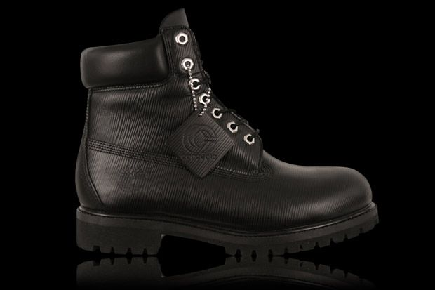 Concepts x Timberland Black Epi Leather 6