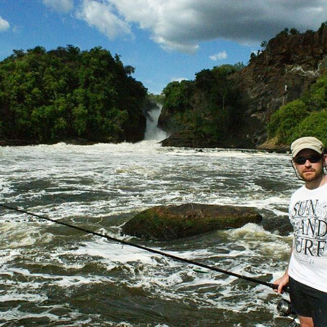 Fishing for Nile Perch in Murchison Falls - Uganda #jackpotsportfishing #explore #travel #fishtheworld #lakevictoria #uganda #nileperch #waterfall #gonefishing #fishingincostarica #cathygilmourphotography #puravida #monsterfish #fishing #fishingtrip #followusfishing #murchisonfalls