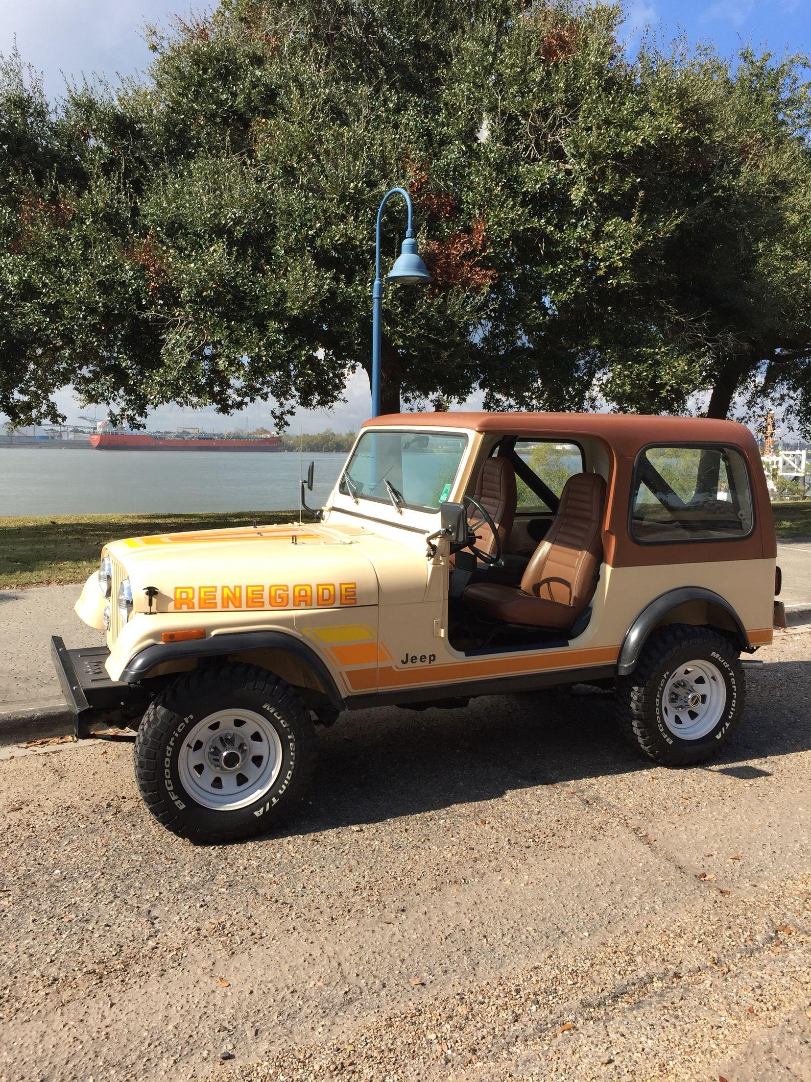 1982 Jeep Cj7 Renegade Jamaican Beige Jeep Cj7 Jeep Cj Jeep