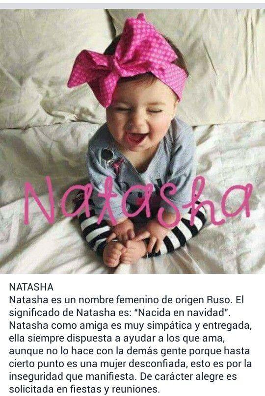Nombres De Ninas Significado Del Nombre Natasha De Origen Ruso