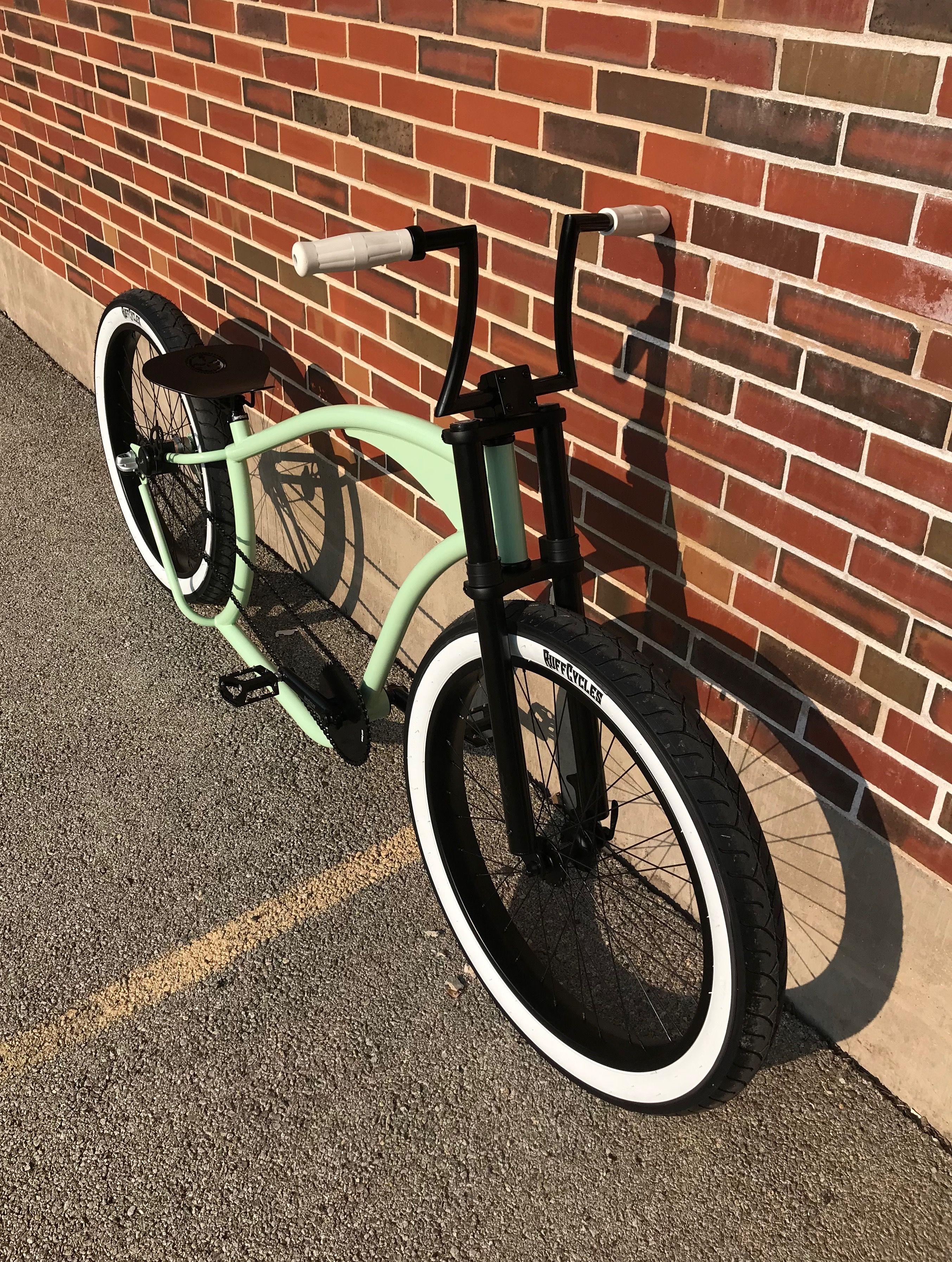 Lowrider Bicycle Mini Bee Light Chrome//Clear Cruiser Chopper Bike Trike