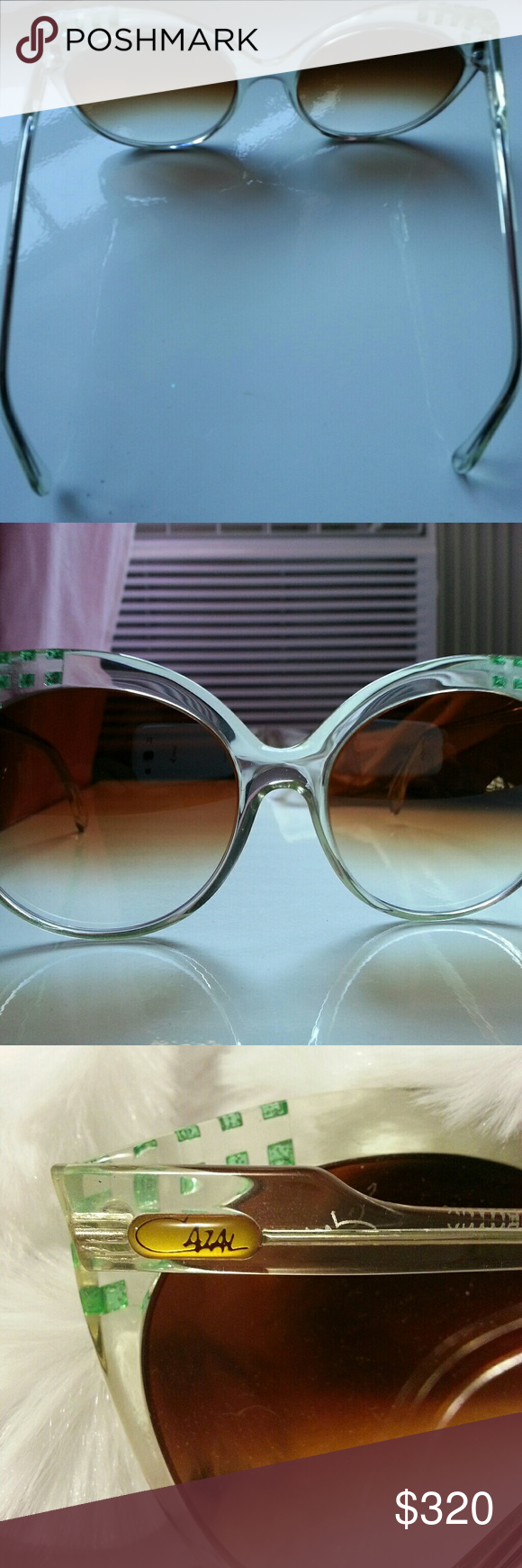 1ae8d010b816 Cazal Sunglasses Vintage 1980 s Awesome and Rare! Cazal model 507.  Translucent frames with green