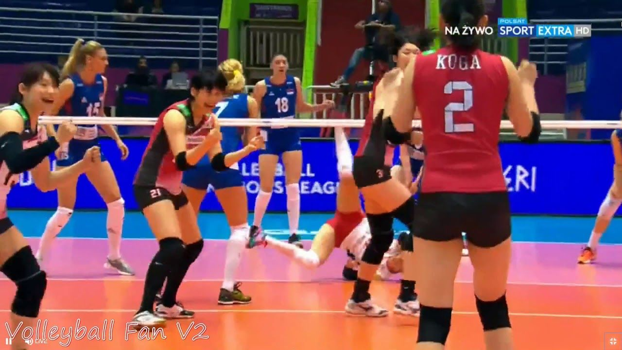 Highlights Sarina Koga V Serbia 5 15 2018 Volleyball Nations League Koga Volleyball League