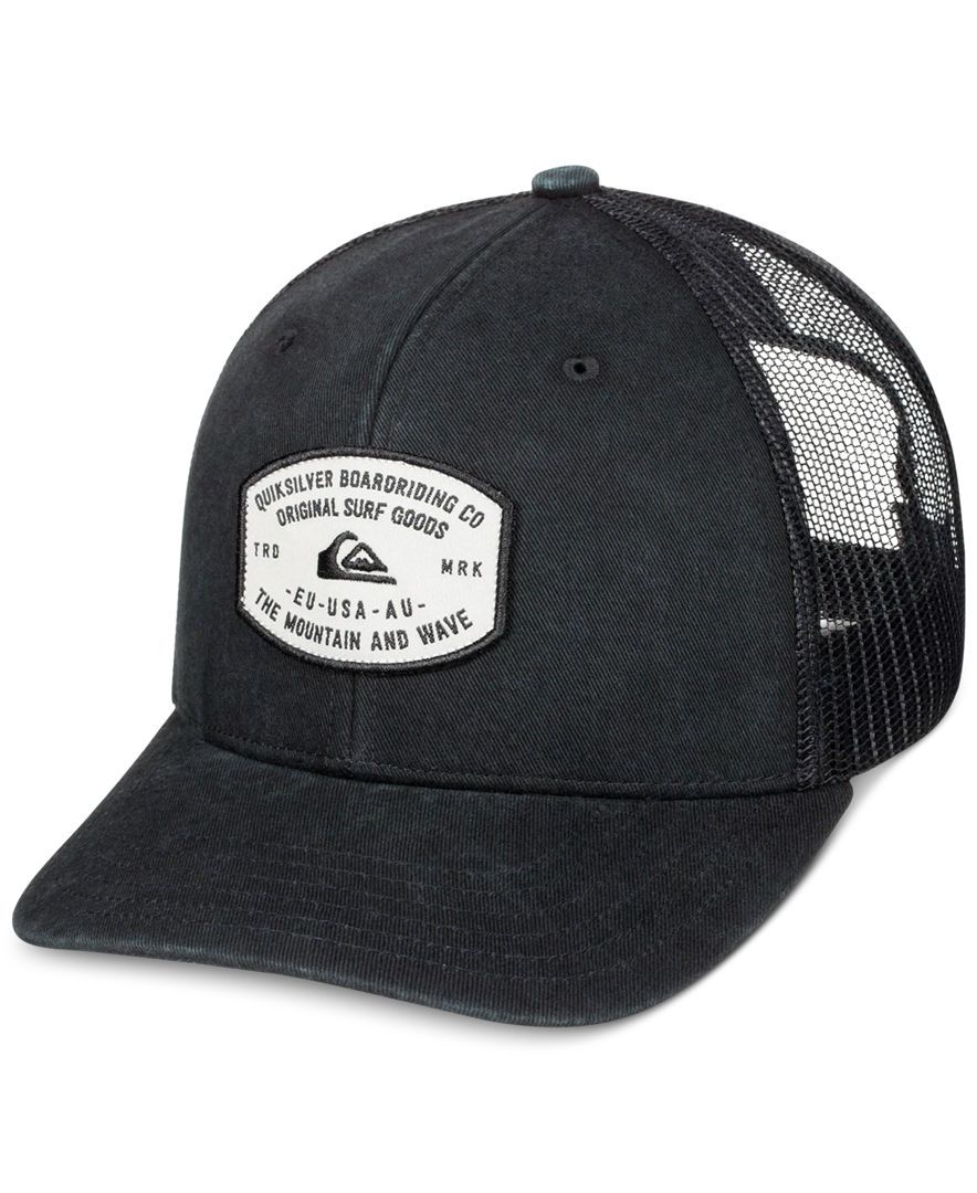 d1567a51310 Top off your casual look with this Simpletons chambray trucker hat from  Quiksilver
