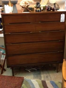 Danish Modern Chest of Drawers - $395