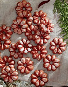 Cranberry Spritz Cookies