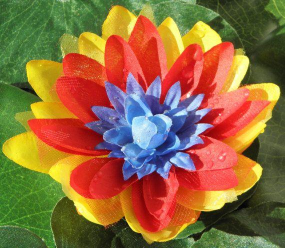 Blue red yellow sgi colored lotus blossom pin visions pinterest blue red yellow sgi colored lotus blossom pin mightylinksfo