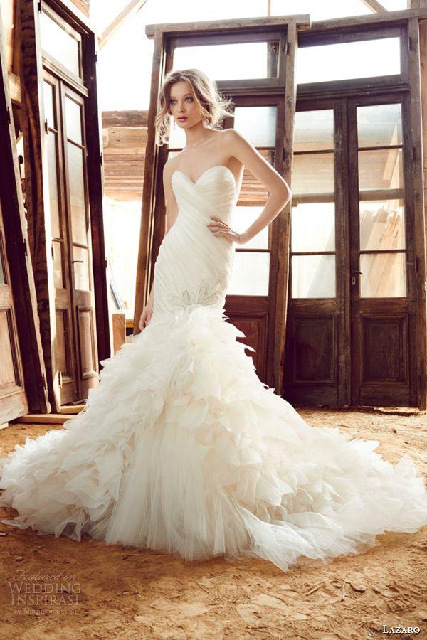 Lazaro Fall 2015 Wedding Dresses