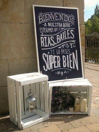 M s de 25 ideas incre bles sobre letreros de bienvenida en - Las mesas fiestas 2017 ...