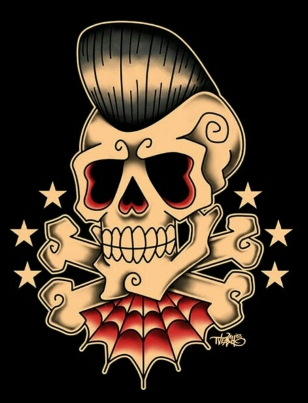 Rockabilly Barber Tattoo (concept) - Logo is crucial for brand and merchandise…