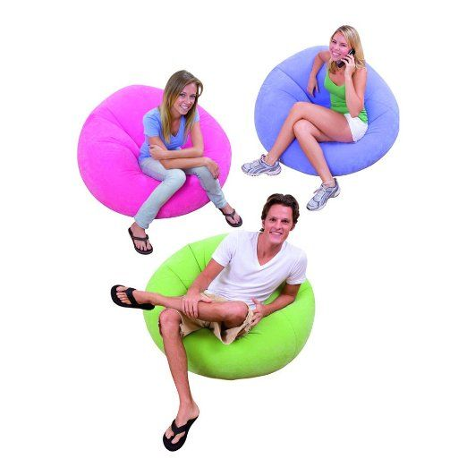 Intex Beanless Bag Chair (Color may vary): Amazon.co.uk: Toys & Games