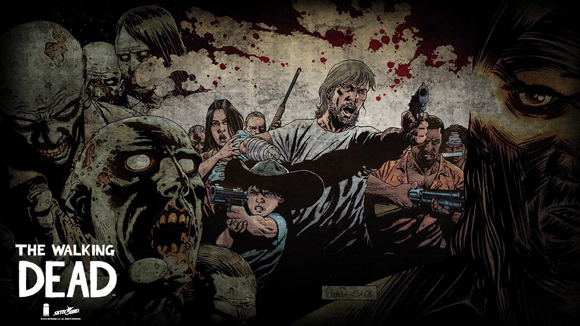 The Walking Dead Wallpaper 1920x1080 Walking Dead Wallpaper