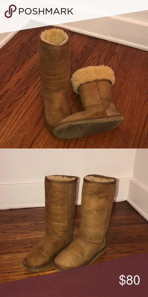452318023c6 Genuine UGG boots **size 5** Super warm GENUINE Classic Tall * UGG ...