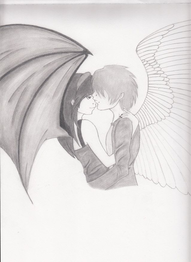 Cute emo couple drawings emo couple