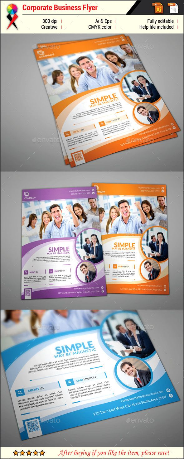 corporate flyer template design download http graphicriver net