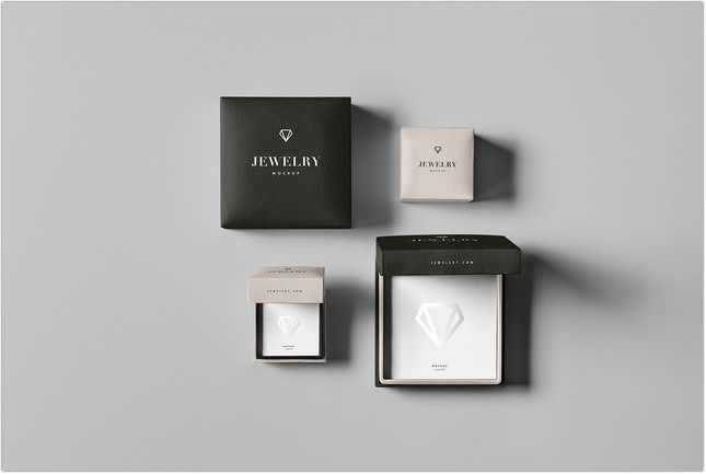 Download Jewelry Package Mock Up Psd Jewelry Packaging Jewelry Packaging Design Free Jewelry