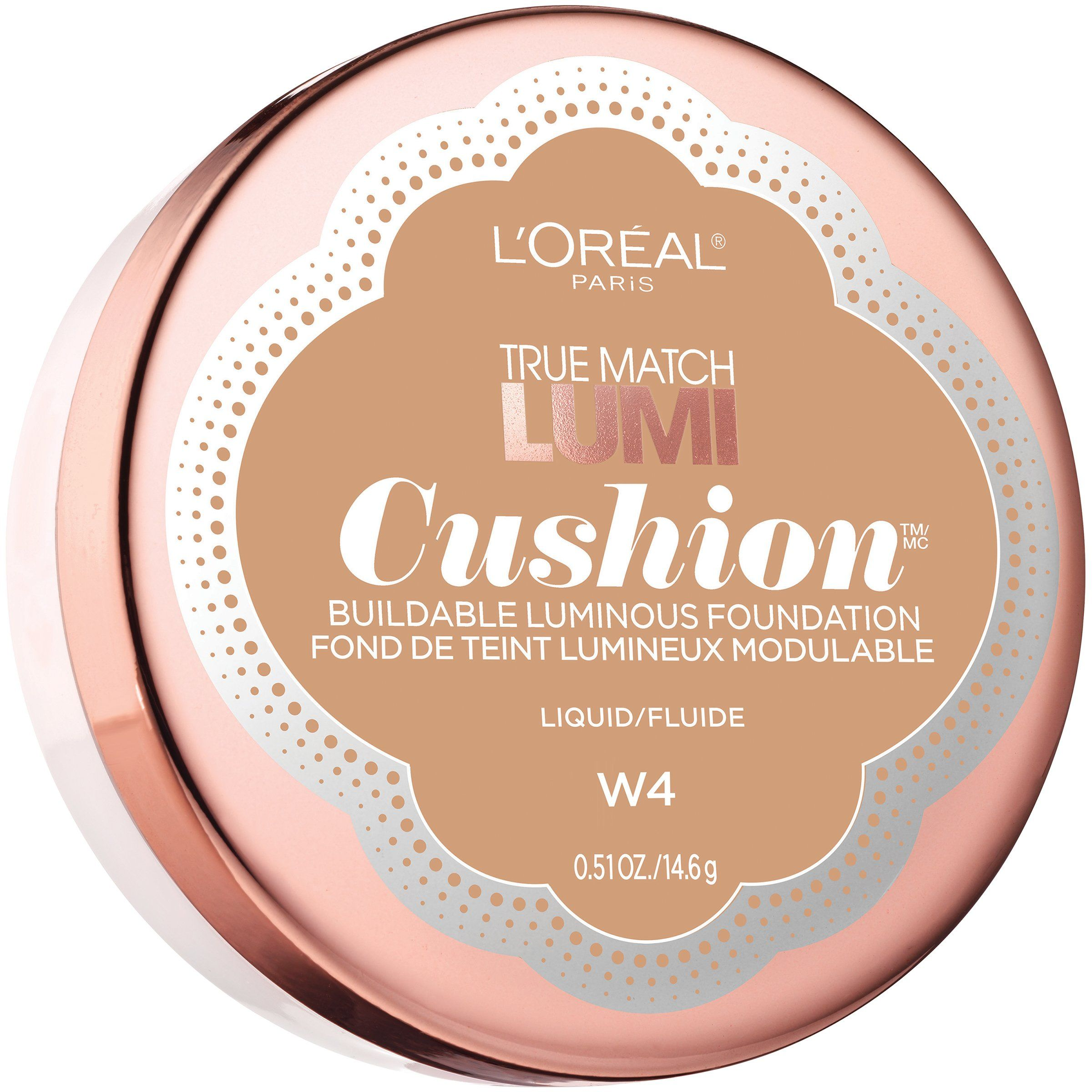 L'Oréal Paris True Match Lumi Cushion Foundation, W4