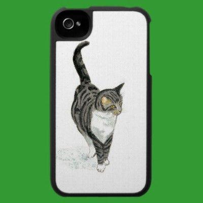 Conversational Cat iPhone 4/4S Speck Case