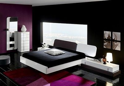 Etonnant Korean Interior: Decorating Bedrooms With Black White And Pink Colors