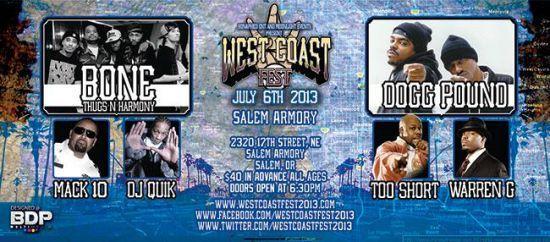 West Coast Fest 2013