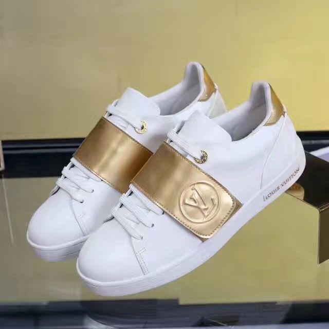 8594ea2a9c4 LV sneaker for lady   Louis vuitton lady shoes   Pinterest ...