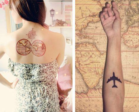 Travel Style: Travel Tattoos