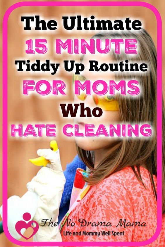 Are you a mom who wants a clean house, but hates cleaning? Try these four quick tidy up tips that will make your home feel instantly cleaner without hours of work.