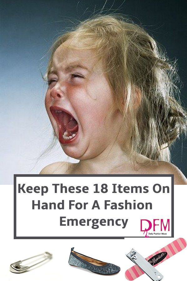 You never know when a fashion emergency might strike. Click through to find out what items to keep on hand to solve the problem.