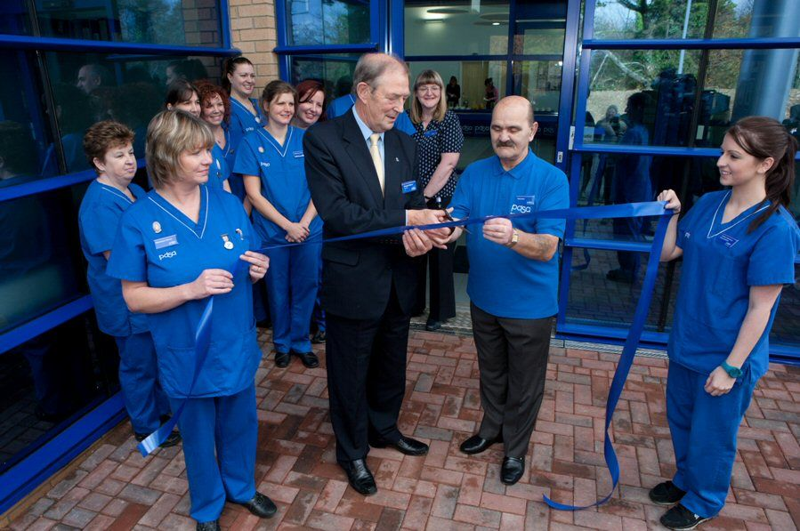 PDSA's £6 million Pet Hospital Appeal has hit its first