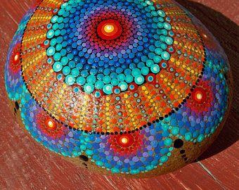 ESTABLECER  Mandala de piedras  apilar piedras   Set de