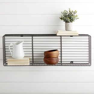 Navy Amp Ivory Rugby Stripe Storage Cube With Rope Handles