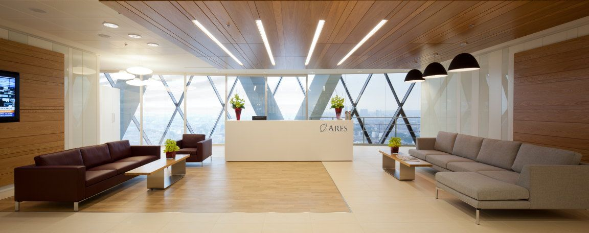 Reception Ares Capital Europe LTD HQ MLA worked as the project