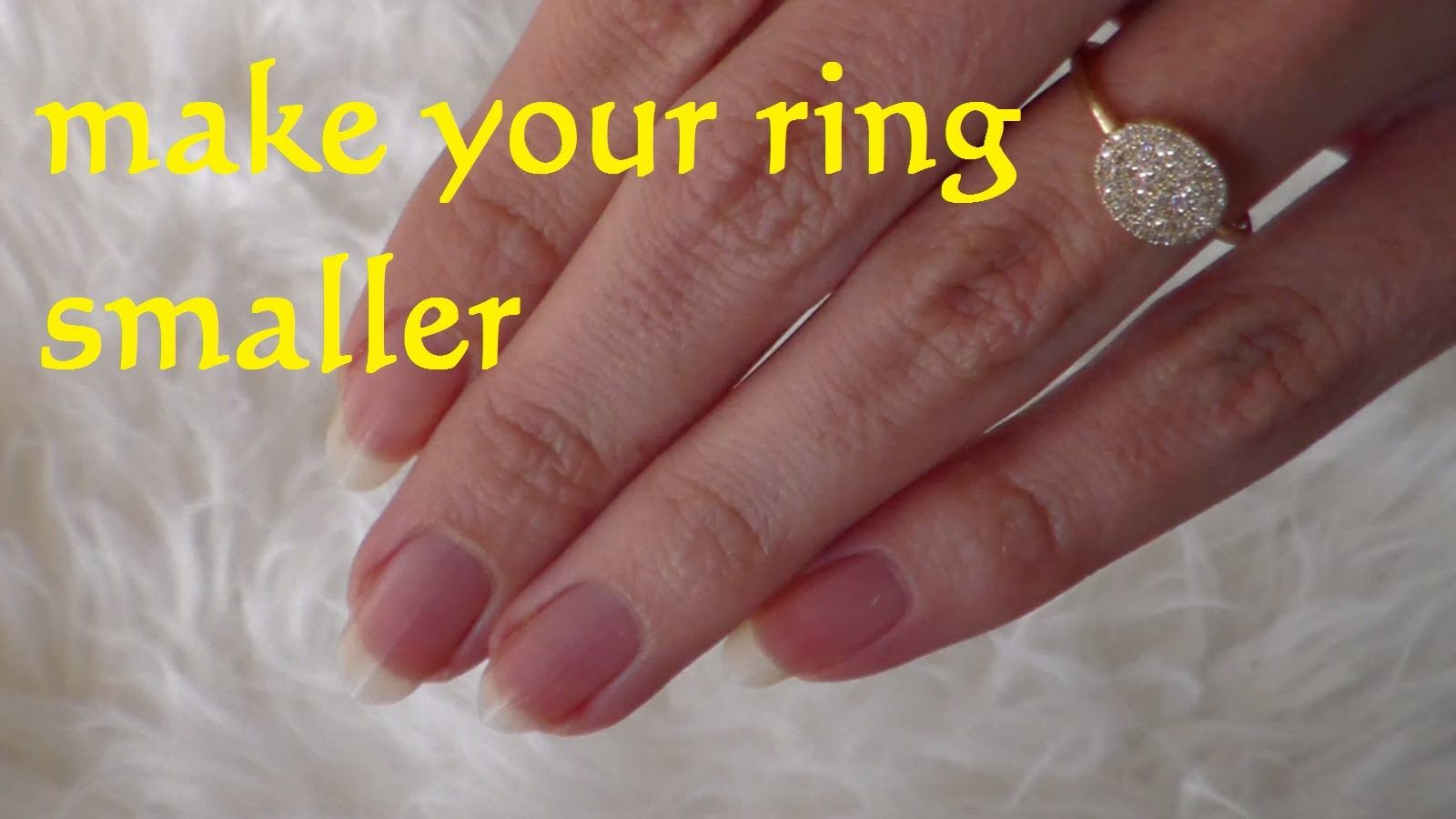 Diy Resize Ring Smaller How To Make A Ring Smaller Lifehack Resize A Make A Ring Smaller How To Make Rings Small Wedding Rings