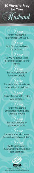 Prayers for my husband David